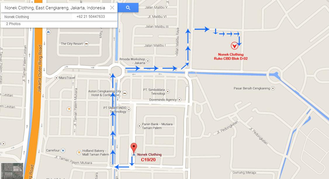 NC @ Ruko CBD Blok D-02, Cengkareng