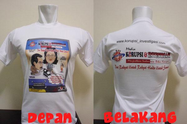 Kaos Wartawan Majalah Korupsi & Investigasi