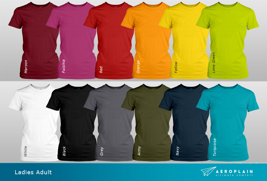 Aeroplain-ladies-adult-colors