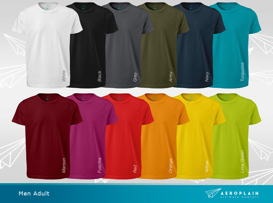 Aeroplain-men-adult-colors