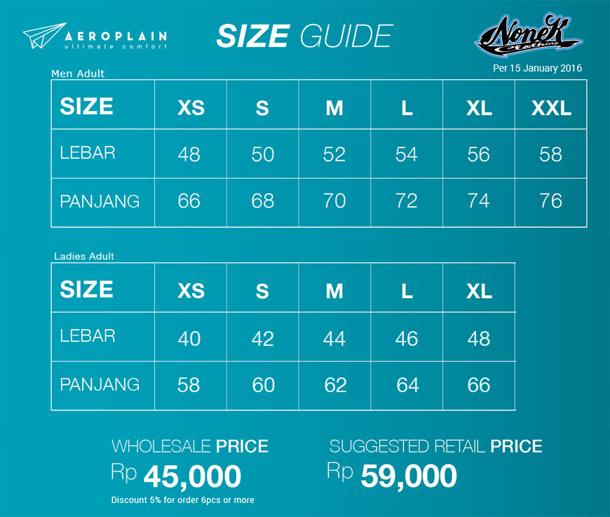 Aeroplain-pricelist-20160101