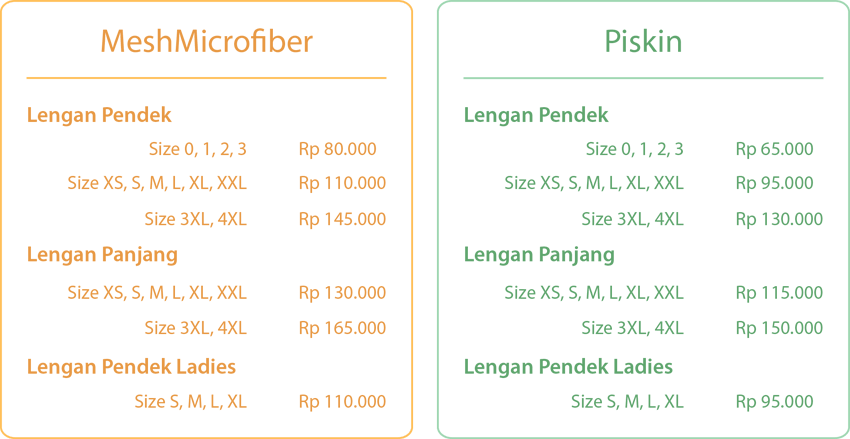 Pricelist Full Print Kaos Nonek Clothing