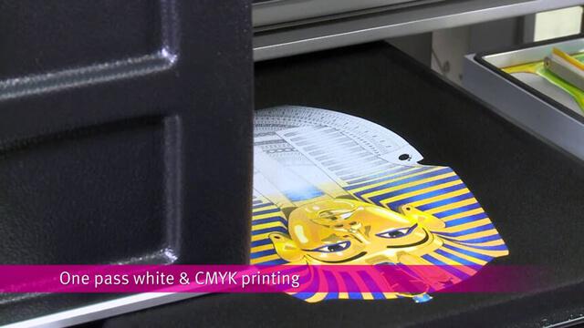 Print DTG White Ink dan Non White Ink